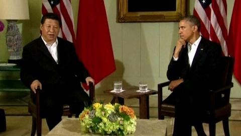 PBS NewsHour -- U.S. Works on Relationship With China