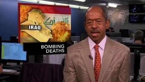 PBS NewsHour -- News Wrap: Car Bombings Continues Sectarian Violence in Iraq