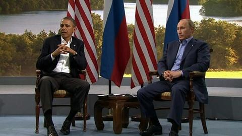 PBS NewsHour -- U.S. Aid to Syrian Rebels Dominates Attention at G-8 Summit