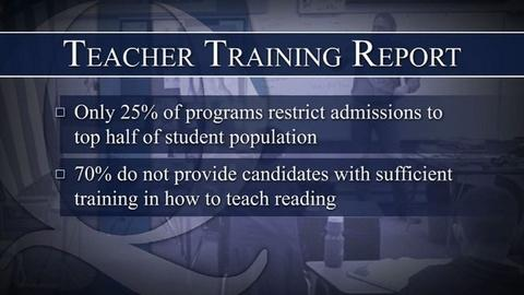PBS NewsHour -- Are Teachers Being Adequately Trained for the Classroom?