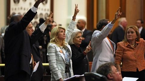 PBS NewsHour -- In Texas, Marathon Filibuster Derails New Abortion Bill