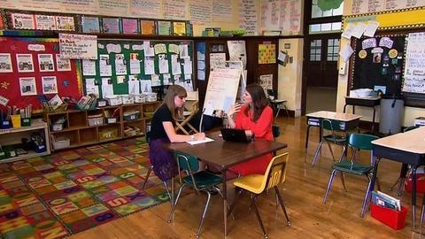 PBS NewsHour -- Mentorship for New Educators Helps Combat Teacher Burnout
