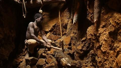 PBS NewsHour -- Children in Burkina Faso Get Dirty Work of Digging Up Gold