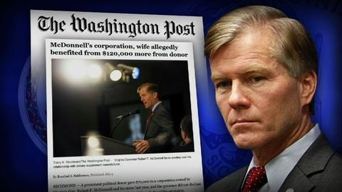 PBS NewsHour -- Allegations of Undisclosed Gifts Emerge for Va. Governor