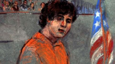 PBS NewsHour -- Alleged Marathon Bomber Pleads Not Guilty to 30 Charges