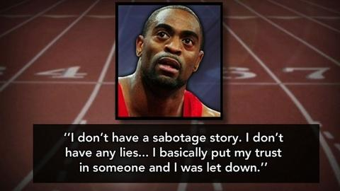 PBS NewsHour -- World Champion Sprinter Tyson Gay Tests Positive for Doping