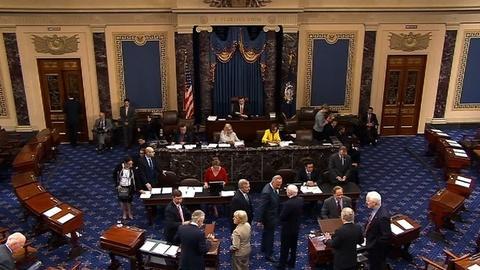 PBS NewsHour -- Senators Strike a Deal on Filibusters, Averting Showdown
