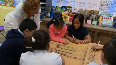 PBS NewsHour -- Should Spanish-Speaking Students Be Taught in English Only?