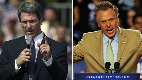 PBS NewsHour -- McAuliffe, Cuccinelli Ready to Face Off in Virginia Debate