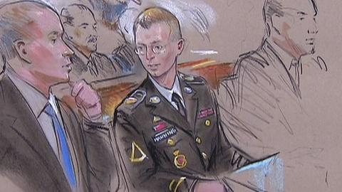 PBS NewsHour -- Prosecutors, Defense Give Different Views of Bradley Manning