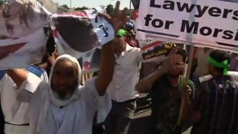 PBS NewsHour -- Egypt, Tunisia Find Trouble With Transition to Democracy