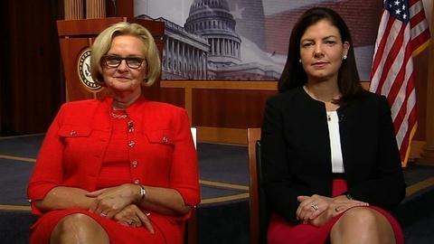 PBS NewsHour -- Sens. McCaskill, Ayotte on Military Sexual Assault