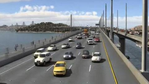 PBS NewsHour -- Broken Bolts Is Latest Woe for Late, Over Budget Bay Bridge