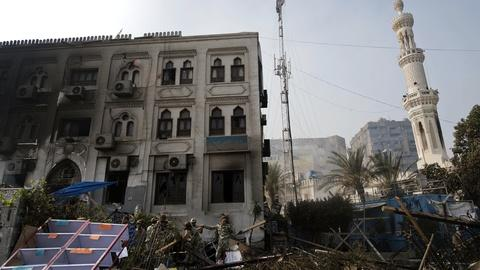 PBS NewsHour -- In the Wake of Turmoil, Should U.S. Suspend Aid to Egypt?