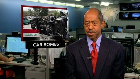 PBS NewsHour -- News Wrap: Dozens Dead After Car Bombings in Iraq, Lebanon
