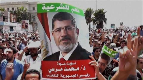 PBS NewsHour -- Muslim Brotherhood Show No Sign of Backing Down