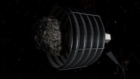 PBS NewsHour -- Still Aims High in Asteroid Capture Mission Despite Budget