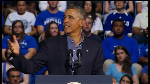 PBS NewsHour -- President Obama Offers Plan to Make Colleges More Affordable
