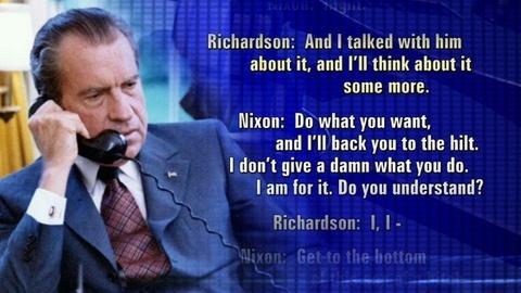 PBS NewsHour -- Secret Tapes Listen in on Nixon Presidency