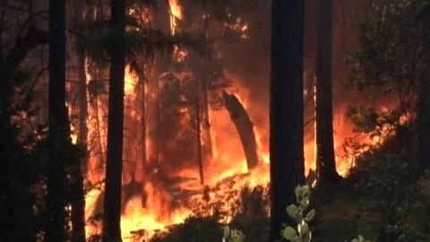 PBS NewsHour -- Fire Officials Make Preparations to Protect Infrastructure
