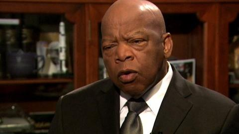 PBS NewsHour -- Rep. John Lewis Remembers the March on Washington