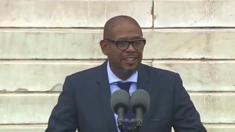 PBS NewsHour -- Actor Forest Whitaker Speaks at March Anniversary