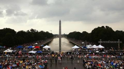 PBS NewsHour -- 50 Years Later, March on Washington Rings With Purpose
