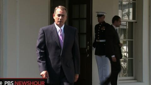 PBS NewsHour -- Boehner Says He Supports Obama on Syria