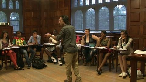 PBS NewsHour -- Low-Income Students to Overcome 'Aristocracy' of Higher Ed