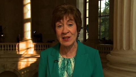 PBS NewsHour -- Sen. Collins: Solution Should Be 'Aggressively Pursued'