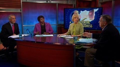 PBS NewsHour -- Shields and Brooks on Obama's Syria Address