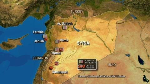 PBS NewsHour -- Verifying Syria's Chemical Arsenal Could Be Big Challenge