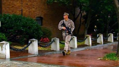 PBS NewsHour -- Navy Yard Tragedy Draws Attention to Facility Security