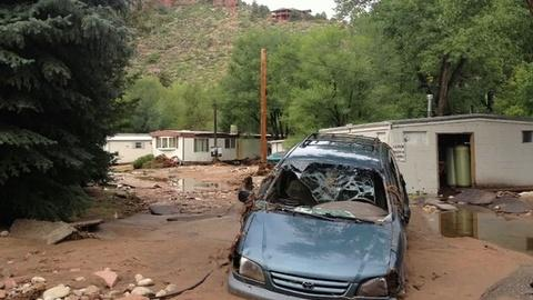 PBS NewsHour -- Residents Find 'Nothing Salvageable' in Post-Flood Colorado