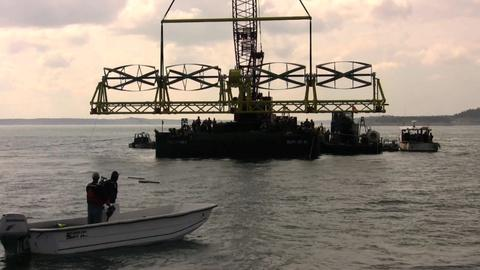 PBS NewsHour -- As Goes Maine? A Tidal Energy Project Powers Up