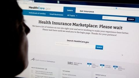 PBS NewsHour -- First day of insurance exchanges overwhelmed by online rush
