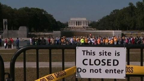 PBS NewsHour -- President Obama, congressional leaders to discuss shutdown