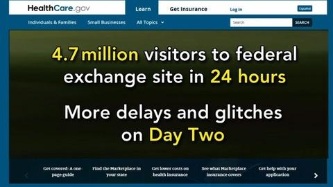 PBS NewsHour -- Examining affordability of health care via new exchanges