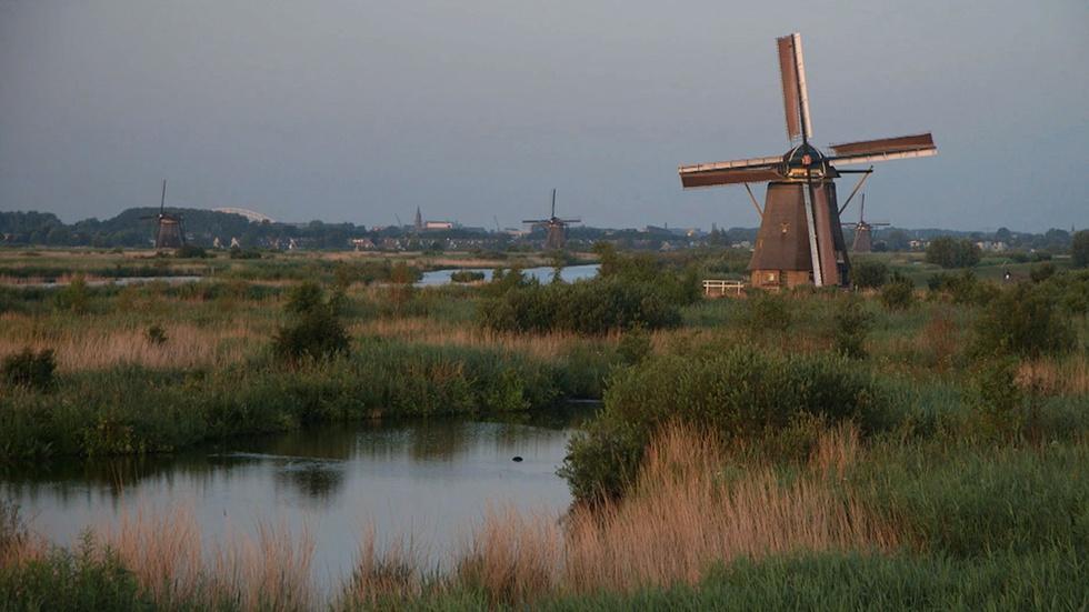 Dutch Windmills image