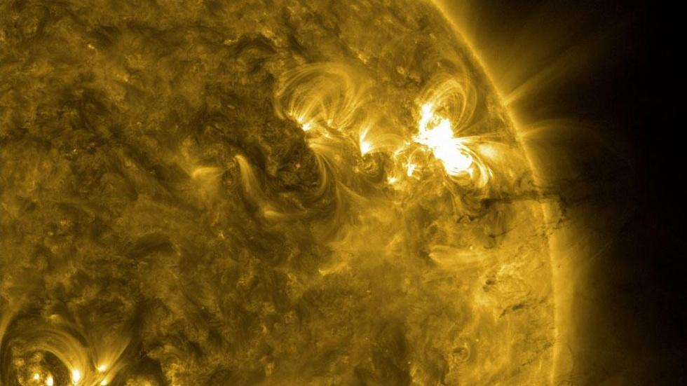 Solar Wind and Storms image