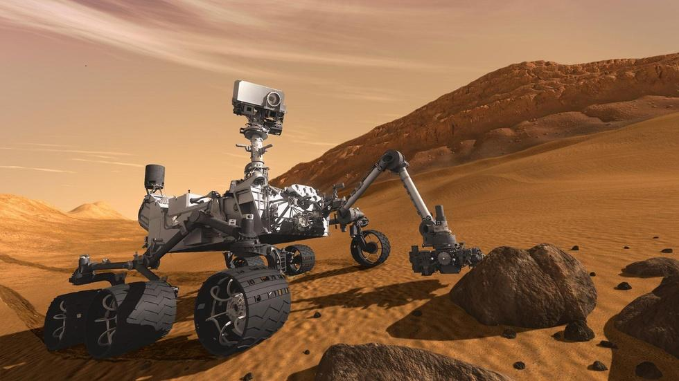 "The Mars Rover, ""Curiosity"" image"