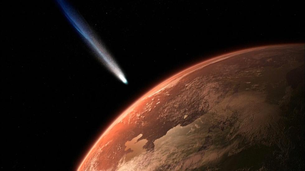 Early Earth Bombarded By Comets image