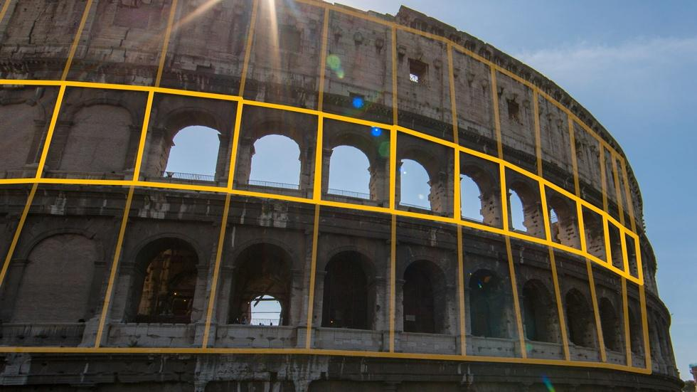 Colosseum Building Blocks image