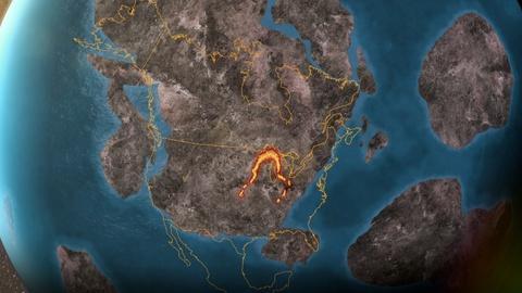 Tearing North America Apart