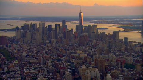 NOVA -- Manhattan Skyline