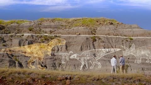 NOVA -- No Dinosaurs Above the Line