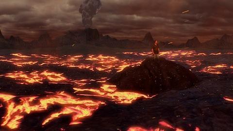 A Massive Volcanic Eruption
