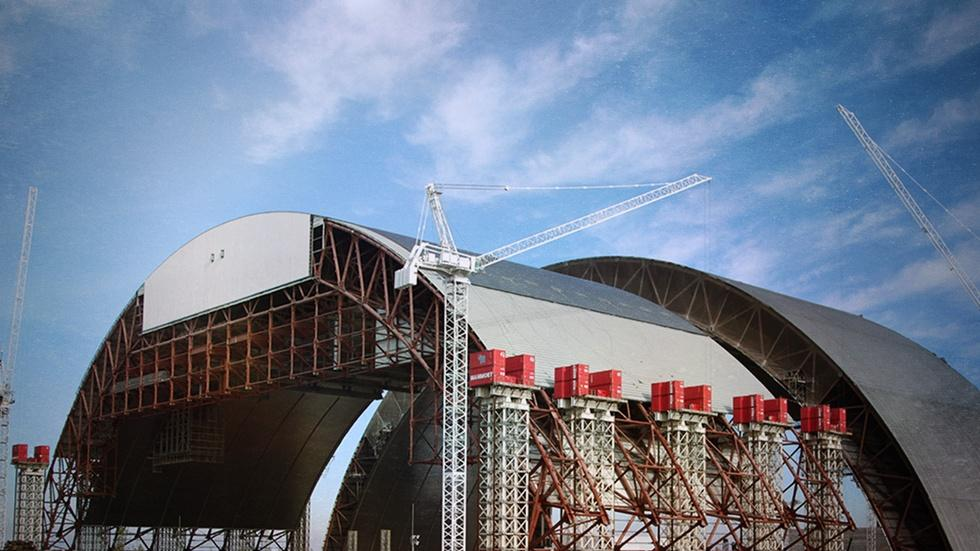 Building Chernobyl's MegaTomb image