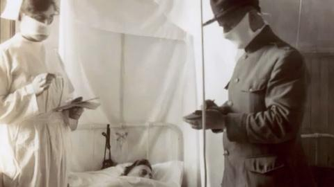 NOVA -- How the 1918 Flu Infected People