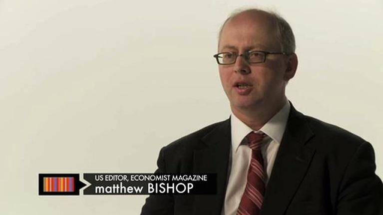 NOW on PBS: Economist Editor: Think Long-Term
